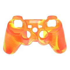 Camouflage Schutzmaßnahmen Silikon Skin für PS3 Controller