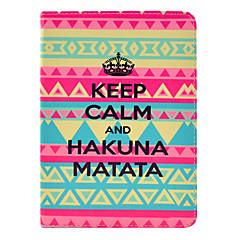 Hakuna matata cas de tatouage pour Mini iPad 3, iPad Mini 2, Mini iPad