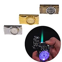 kreativ ur metal lightere legetøj (tilfældig farve)