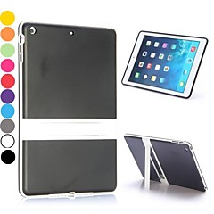 Dual Color Soft TPU and PC Back Cover Case with a Kickstand for iPad Air(Assorted Colors)
