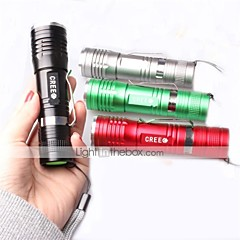 LT-x4   New Design  3 Modes 1xCree XML-T61*T6  Flashlight(1000LM. 1*18650  1*AAA  Green)