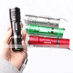 Linternas LED / Linternas de Mano LED 3 Modo 1000 Lumens A Prueba de Agua / Resistente a Golpes / Empuñadura Anti Deslice Cree XM-L T6