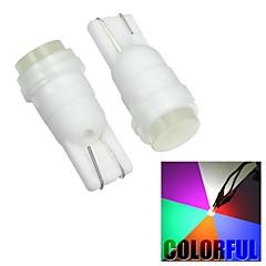 merdia t10 1s LED haute performance voiture coloré lampe de lecture / lumière latérale (12v / paire)