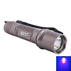 פנס LED/פנסי תאורת אולטרה סגול/פנסי יד - LED - מחנאות/צעידות/טיולי מערות/שימוש יומיומי/רכיבה על אופניים/ציד/טיולים/טיפוס 5 מצב Lumens