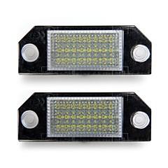 alumbrado de la placa del coche de licencia número 24 blanco LED Bombillas Lámparas para ford focus 2 c-max