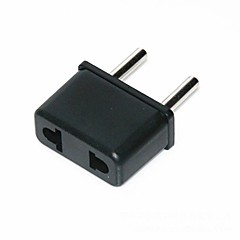 EU Plug to US and EU  Travel AC Power Adapter Plug(110v-240v)