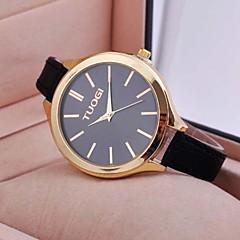 burlone di modo quarzo semplice grande linea di orologi cinghia delle donne