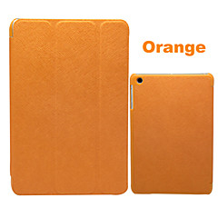 Foldbart Design Ultratynd PU læder cover med holder til iPad mini (blandede farver)