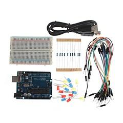 xd DIY uno R3 kokeilla perusoppimistavoitteet työkalupakki Arduino