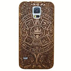 Handmade Maya Kirschholz-Case Schutzhülle für Samsung Galaxy i9600 S5