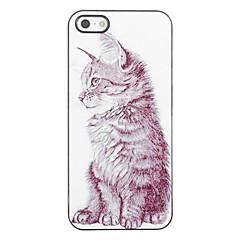 Design elegante Cat modello rigido in alluminio per iPhone 4/4S