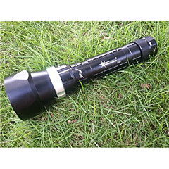 SolarStorm Dx4 U2 Diving Diving Flashlight 4 xcree XML U22 100 Meters 3200 Lumens (2 * 18650 * 26650)