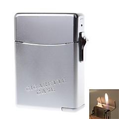 alliage de zinc costume léger (cas de cigarette + briquets)