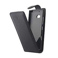 Voor Nokia hoesje Flip hoesje Volledige behuizing hoesje Effen kleur Hard PU-leer Nokia Nokia Lumia 930