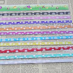 9 χρωμάτων υλικών origami τυχερό αστέρι (45 σελίδες)