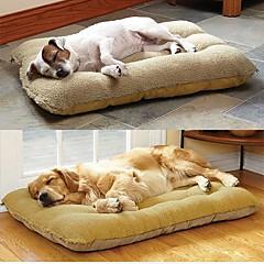 \ Grande ninho cão de estimação com cordeiro camurça esteira 100 * 56