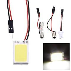 Merdia Festoon 2.5W COB 6000K 120LM 18SMD LED Cool White Light for Car License Plate Light / Reading Lamp