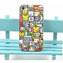 Toophone® JOYLAND Plastic Box Shape Cartoon Characters Back Case for iPhone 4/4S