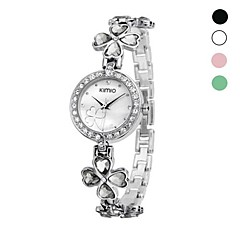 Women's Fashion Kimio  Brand Alloy Analog Quartz Wrist Watch Assorted Colors