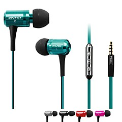 AWEI ES-130i  3.5mm In-Ear Earphones With MIC 3 Accessories for Samsung Phones