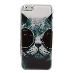 Lovely Cool Cat Plastic Hard Back Cover for iPhone 6
