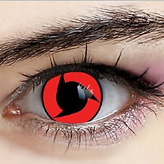 Naruto Uchiha Itachi Sharingan Cosplay Contact Lenses(1 Pair)