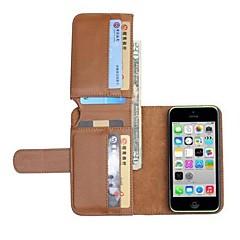 uusi nahka lompakko koko kehon tapauksissa iphone 5c