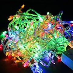 Vandtæt 10M 100Led Rgb Lys Led Jul Lys Dekoration Streng Lys (220V)