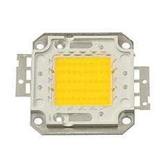 50W 4500lm 3000K varmvit LED-chip (30-35v)