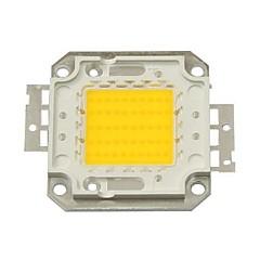 50w 4500lm 3000k bianco caldo led chip (30-35v)
