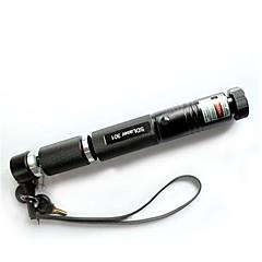 lt-301b pointeur laser vert verrouillable (de 3MW, 532nm, 1x18650, noir)