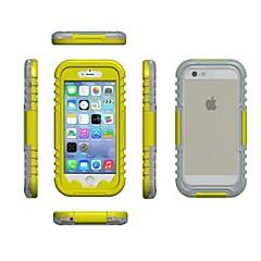Voor iPhone 6 hoesje / iPhone 6 Plus hoesje Waterbestendig hoesje Volledige behuizing hoesje Effen kleur Zacht TPUiPhone 7 Plus / iPhone