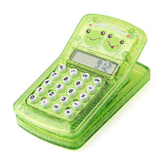 Happy Frog Clip Magnet Pocket Calculator