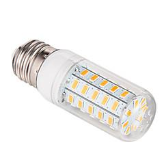 10W E26/E27 Lâmpadas Espiga 48 SMD 5730 1000 lm Branco Quente AC 220-240 V