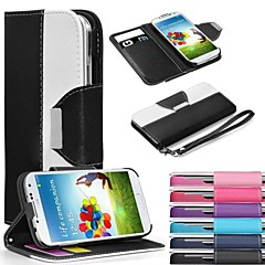 Leather Wallet Case Flip Leather Stand Cover with Card Holder for Samsung S3 I9300(Assorted Colors)