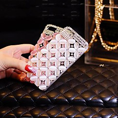 Luxury with Cat's Eye Hard Back Cover for iPhone 4 /  iPhone 4S (Assorted Colors)