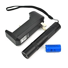 LT-850 Adjustable Focus Burning Lighter Cutting Purple Laser Pointer Kits(3mw,405nm,1xCR16340)