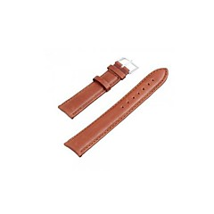 20mm PU Leather Replacement Watch Band Strap Watchband Brown