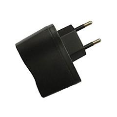 Universal Portable EU Travel Power Adapter Plugs (100V~240V,500mah)