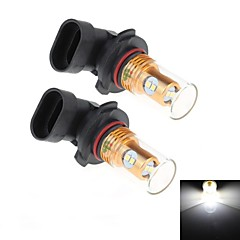 2Pcs 9006 8W 8x Samsung 2323 SMD 450LM 6000K White Light LED for Car Turn Steering / Reversing Lamp (DC 12-24V)