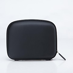 "5 ""GPSナビゲータ用のTomTom保護PU + EVAバッグケース - ブラック"