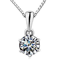 Κοσμήματα Κρεμαστά Κολιέ Κράμα Ασημιού Ασήμι Στερλίνας Γυναικεία Ασημί Δώρα Γάμου