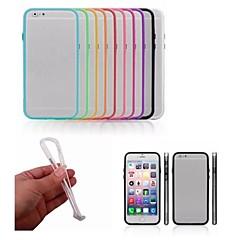 Käyttötarkoitus iPhone 8 iPhone 8 Plus iPhone 6 iPhone 6 Plus kotelot kuoret Iskunkestävä Bumper Etui Yhtenäinen väri Kova PC varten