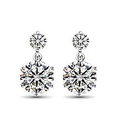 Earring Stud Earrings Jewelry Women Sterling Silver 2pcs Silver