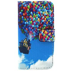 City Scenery Pattern PU Leather Full Body Case with Stand for Samsung S4 I9500