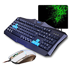 SUNSONNY V90+TM30 Optical High-speed USB Wired Gaming Keyboard+ Mouse(DPI) Suit