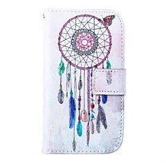Wind Bells Pattern PU Leather Full Body Case for for Samsung S4 I9500