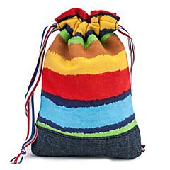 fenchii rainbow stripe tøypose for sony a7r / A6000 / nex11