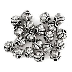 græskar-formet legering spacer perler tilbehør gammel splint (20pcs)