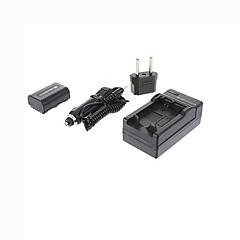 ismartdigi-sony np-FH50 (1050mAh, 7,2 V) de la batterie de la caméra + bouchon + ue chargeur de voiture pour HX200 HX100 a230 a330 a290 a390 h